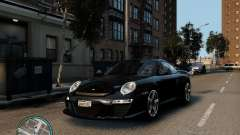 Ruf Rt 12 серый для GTA 4