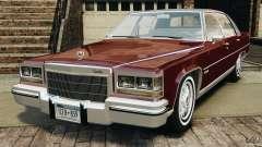 Cadillac Fleetwood Brougham Delegance 1986 для GTA 4