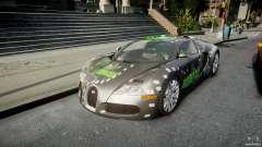 Bugatti Veyron 16.4 v1.0 new skin для GTA 4