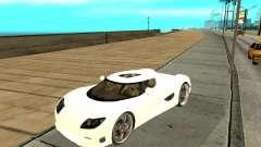Koenigsegg CCRT для GTA San Andreas