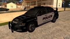 Mitsubishi Lancer Evo VIII MR Police для GTA San Andreas