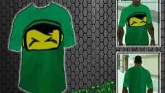 Новая зелёная футболка