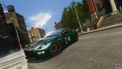 Aston Martin V12 Zagato 2012 для GTA 4