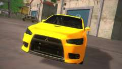 Mitsubishi Lancer Evo X Tunable для GTA San Andreas