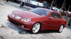 Mercedes-Benz CLK 63 AMG 2005 для GTA 4