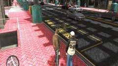 Road Textures (Pink Pavement version) для GTA 4