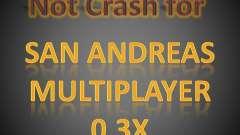 Not Crash for SAMP 0.3x для GTA San Andreas