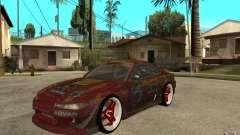 Nissan Silvia HKS Genki для GTA San Andreas