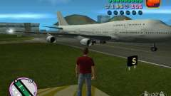 Boeing 747 для GTA Vice City