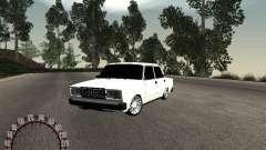 Ваз 2107 БПАN для GTA San Andreas