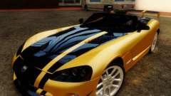 Dodge Viper SRT-10 Roadster ACR 2004 для GTA San Andreas