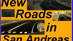 New Roads in San Andreas для GTA San Andreas