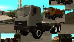 Super MAZ МАЗ 5551 для GTA San Andreas