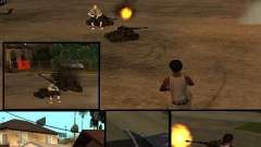 BATTLE TANK для GTA San Andreas