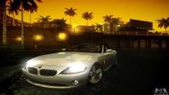 BMW Z4 серебристый для GTA San Andreas
