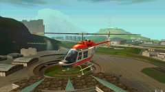 Bell 206 B Police texture2 для GTA San Andreas