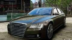 Audi A8 (D4, Typ 4H) 2010 Alpha для GTA 4