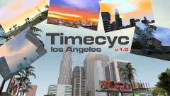 Timecyc Los Angeles для GTA San Andreas