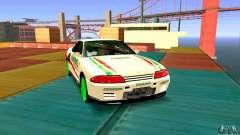 Nissan Skyline GT-R32 BadAss для GTA San Andreas