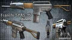 [Point Blank] Spas-15 для GTA San Andreas