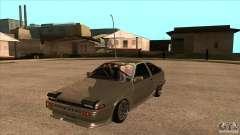 Toyota AE86 JDM для GTA San Andreas