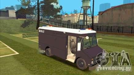 Swat Van from L.A. Police для GTA San Andreas