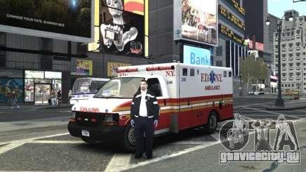 Chevrolet Ambulance FDNY v1.3 для GTA 4