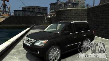 Lexus LX 570 v1.0 для GTA 4