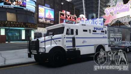 Enforcer Emergency Service NYPD для GTA 4