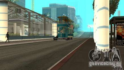 Double Decker Tram для GTA San Andreas