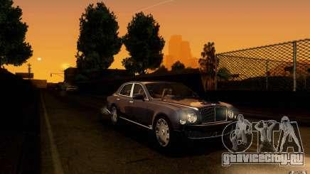Bentley Mulsanne 2010 v1.0 для GTA San Andreas