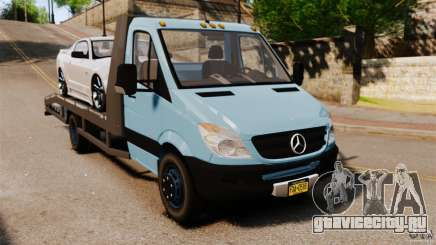 Mercedes-Benz Sprinter 3500 Car Transporter для GTA 4