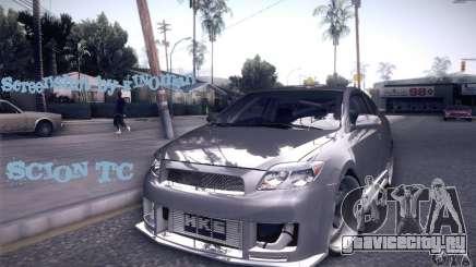 Scion Tc Street Tuning для GTA San Andreas