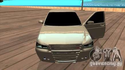 ВАЗ 2172 Приора серебристый для GTA San Andreas