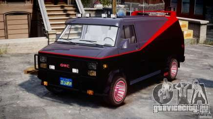 GMC Van G-15 1983 The A-Team для GTA 4