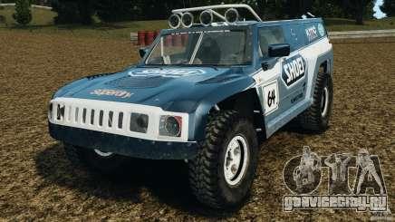 Hummer H3 raid t1 для GTA 4