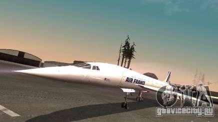 Aerospatiale-BAC Concorde Air France для GTA San Andreas