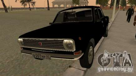 ГАЗ 24-10 Волга чёрный для GTA San Andreas