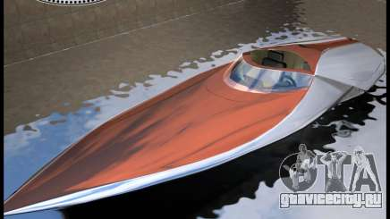 Bugatti Sang Bleu Speedboat для GTA Vice City