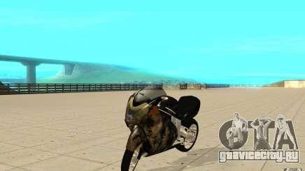 GTAIV TLAD Hakuchou Custom Version-With Custom Paitjob для GTA San Andreas