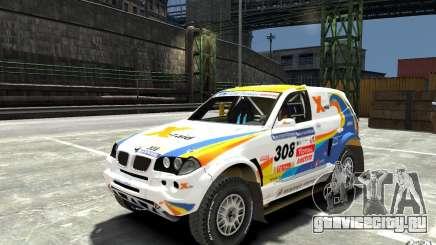 BMW X3 CC DAKAR для GTA 4