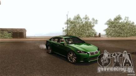 Lexus GS350F Sport 2013 для GTA San Andreas