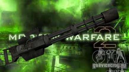 Миниган М134 из CoD:Mw2 для GTA San Andreas