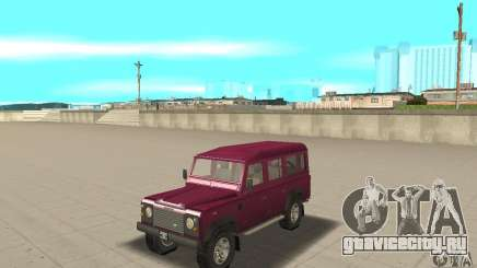 Land Rover Defender 110SW для GTA San Andreas
