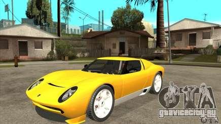 Lamborghini Miura Concept 2006 для GTA San Andreas