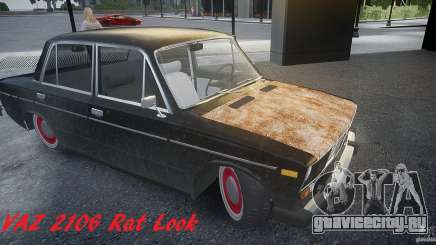 Vaz 2106 Rat look для GTA 4