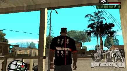 Футболка Rammstein v3 для GTA San Andreas
