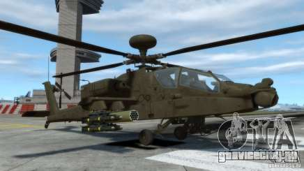 AH-64D Longbow Apache v1.0 для GTA 4