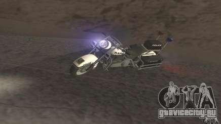 Полицейский мотоцикл из GTA TBoGT для GTA San Andreas