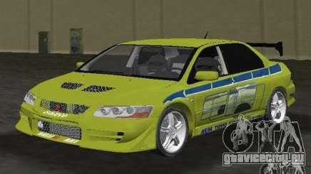 Mitsubishi Lancer Evolution VII для GTA Vice City
